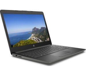 """HP Stream 14"""" AMD A4 Laptop - 64 GB eMMC, Silver"""