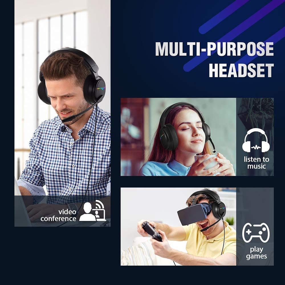 XIBERIA Headset PC ,Xbox one, PS4 Headset, Gaming Headphones.