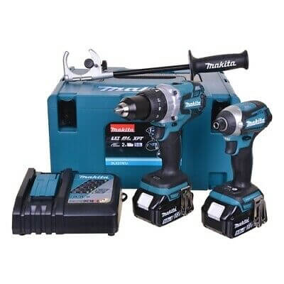 Makita DLX2176TJ 18v 2x5.0Ah Brushless Li-ion LXT Twin Kit