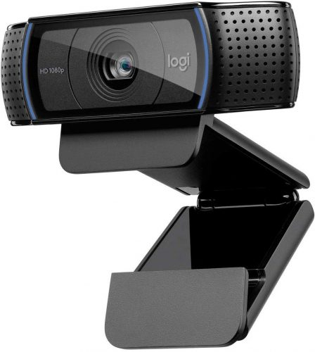 Logitech, C920 HD Pro Webcam, Full HD 1080p