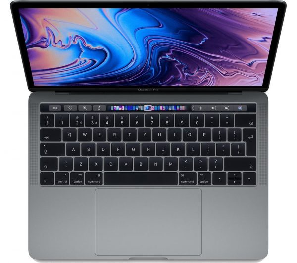 """APPLE 13"""" MacBook Pro with Touch Bar (2019) - 128 GB SSD, Space Grey"""