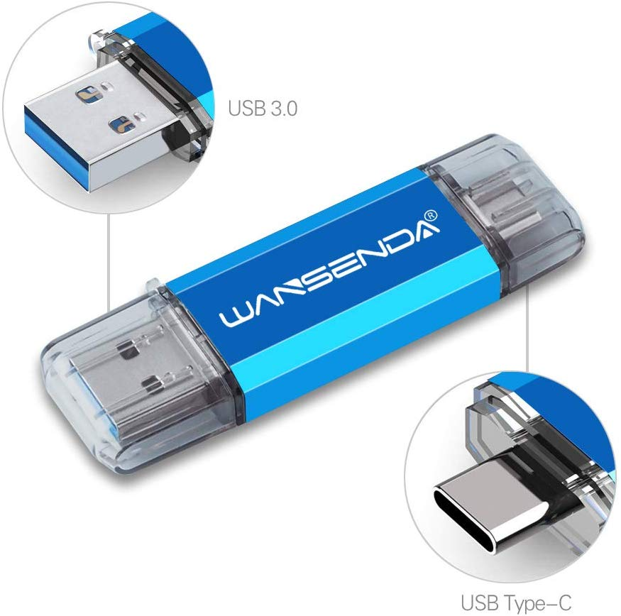 USB 3.0 Wansenda Type C Memory Stick 512GB