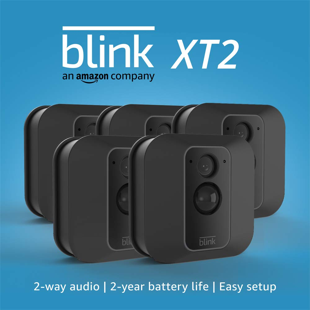 Blink XT2 , 5 Camera Security System with Cloud Storage