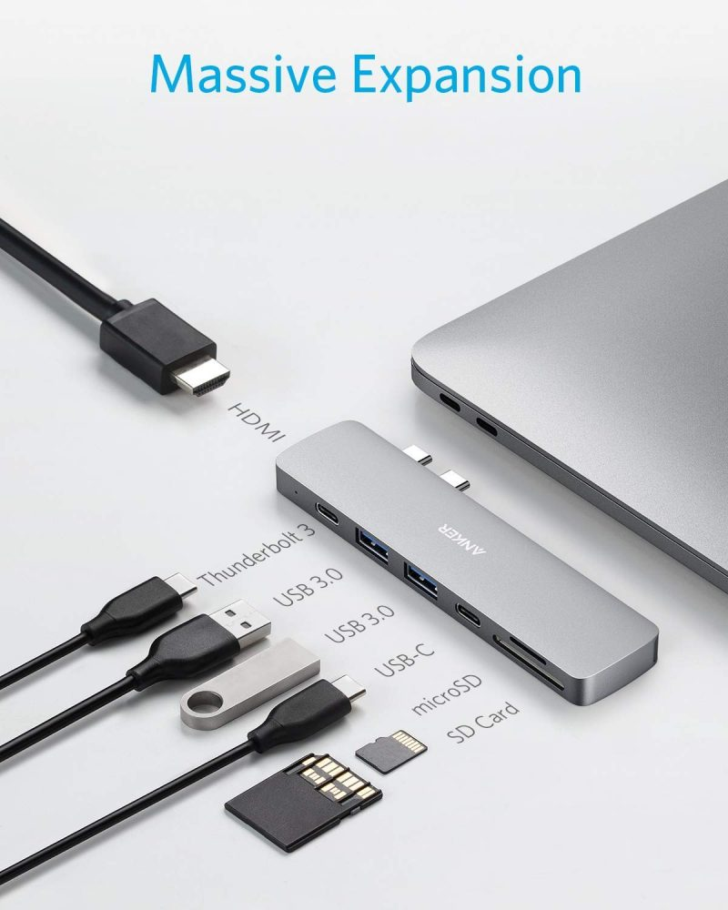 Anker USB C Hub for MacBook.