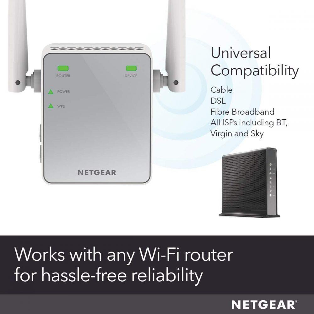 NetGear Wi-Fi Range Extender EX2700