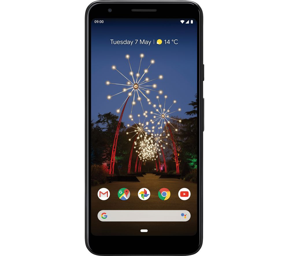 GOOGLE Pixel 3a - 64 GB, Just Black