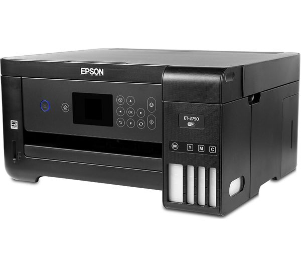 EPSON Ecotank ET-2750 All-in-One Wireless Inkjet Printer