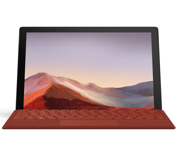 "Microsoft 12.3"" Intel® Core™ i5 Surface Pro 7 - 256 GB SSD, Black"