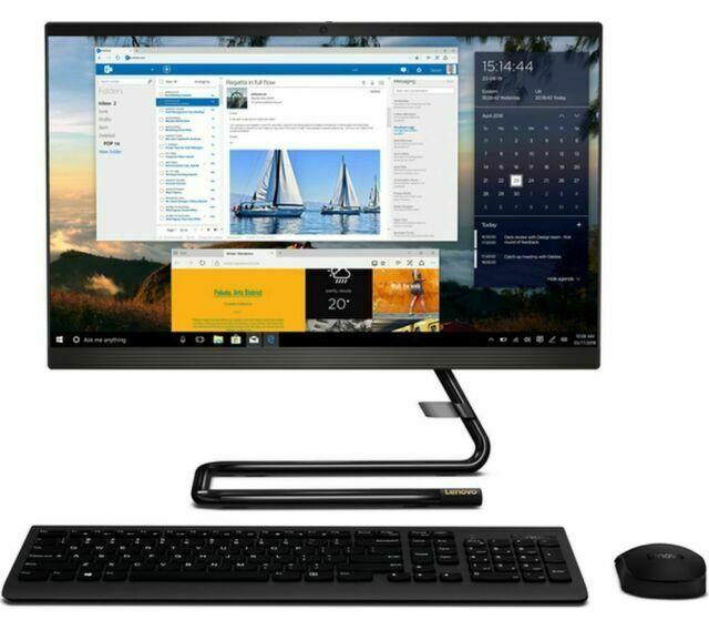 """Lenovo All in One PC IdeaCentre A340 21.5"""" FHD Intel Core i3-8145U 4GB 128GB SSD"""