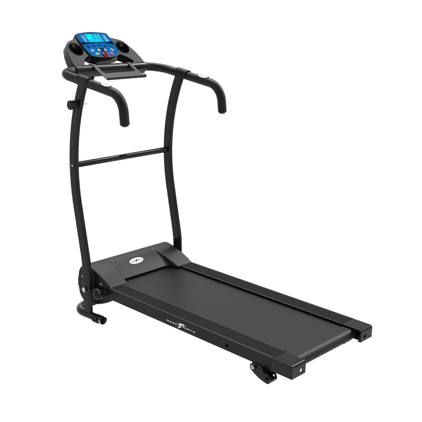 TREADMILL NERO PRO Electric Folding Running Machine w Bluetooth